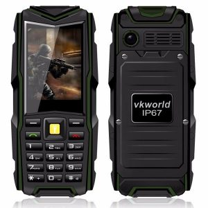 Vkworld Stone V3 5200mAh IP67 Waterproof Power Bank Dual SIM Cards Feature Phone