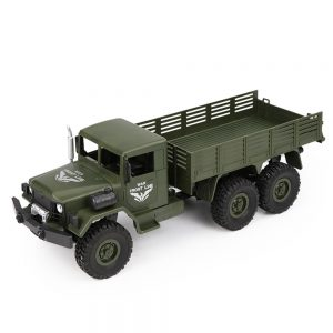 JJRC Q63 1/16 2.4G 6WD Off-Road Transporter Military Truck Crawler RC Car RTR - Green