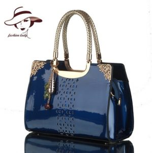 JINQIAOER casual black leather bags women's handbags multifunction