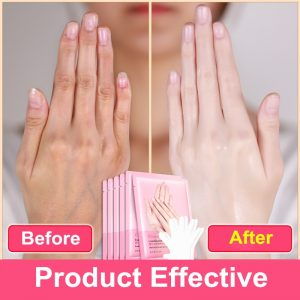 1pair=2pcs Snail Extract Moisturizing Hand Mask Super Smoothing Whitening Hand Gloves Anti-Aging and Moisturizing Glove