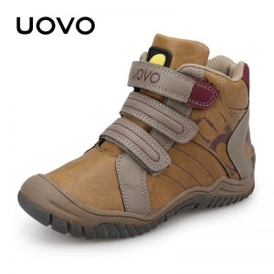 2018 UOVO New Arrival Mid-Calf Boys Shoes Fashion Kids Sport Shoes Brand Outdoor Children Casual Sneakers for Boys Size 26#-36#