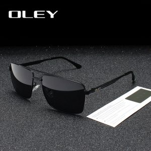 8d8491fa68 OLEY Brand Polarized Sunglasses Men Fashion Classic Square HD glasses For  Women Oculos masculino Male Customizable