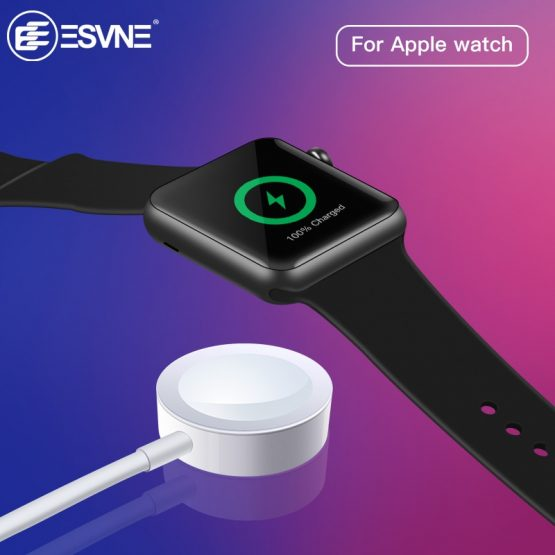 ESVNE Wireless Charger for Apple watch 1/2/3 USB fast wirless charging 1m Cable