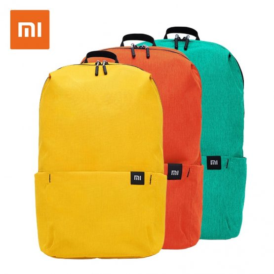 bcf43f350fa2 Original Xiaomi 10L Backpack Bag Waterproof Colorful Leisure Sports Chest  Pack Bags Unisex For Mens Women