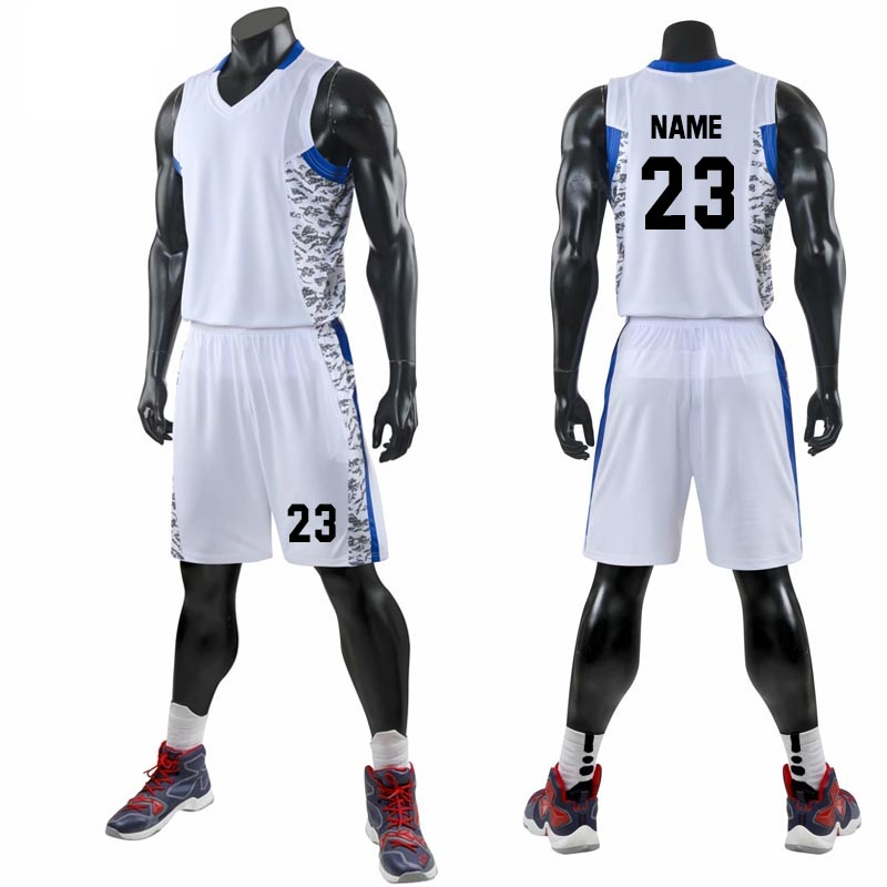 2019 New Design Cheap College Basketball Jerseys Men Youth Boys Breathable  Basketball Uniforms Shirts Shorts Set White Custom - VolgoPoint