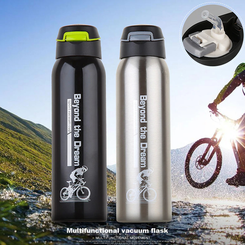 1000ML Portable Mountain Sport Bike Cycling Outdoor Water Bottle Container
