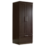 Cabinet Armoire with Garment Rod 1