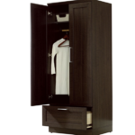 Cabinet Armoire with Garment Rod 3
