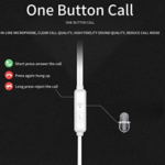 Earbuds Headphones with Microphone -5