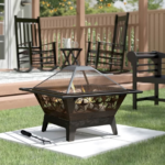 Outdoor Steel Wood Burning Fire Pit 2