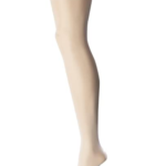 Sheer Thigh-High Stockings with Silicone Lace Top-1