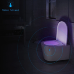 TOILETS WITH LED MOTION LIGHT 7