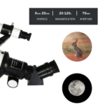 20-120x Astronomical Telescope for Kids 2