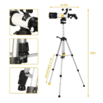 20-120x Astronomical Telescope for Kids 3