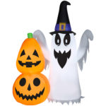 Airblown Inflatables Ghost Pumpkin Stack