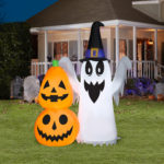 Airblown Inflatables Ghost Pumpkin Stack-2