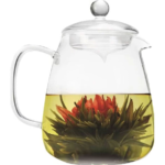 Glass 36 Oz Teapot with Glass Tea Infuser 1