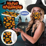 Halloween Printed Unisex Fashion 3-ply Face Mask-1