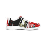 Multicolor Low Top Canvas Running Shoes 1