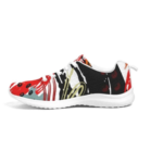 Multicolor Low Top Canvas Running Shoes 2