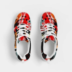 Multicolor Low Top Canvas Running Shoes 3