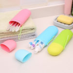 Portable Travel Toothpaste Toothbrush Holder Cap Case-2
