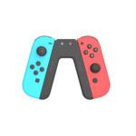 RED AND BLUE SWITCH GAME CONTROLLER 1