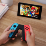 RED AND BLUE SWITCH GAME CONTROLLER 3